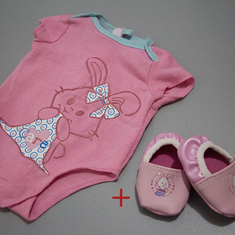 Doll Accessories,Pink Doll Shoes Wear fit 43cm Baby Doll Clothes and Accessories, Children best Birthday Gift Multan