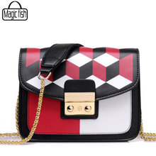Colorful Famous Brands Design Women Messenger Bags 2017 High Quality PU Leather Women Bag Luxury Classical Women Handbags A278/l