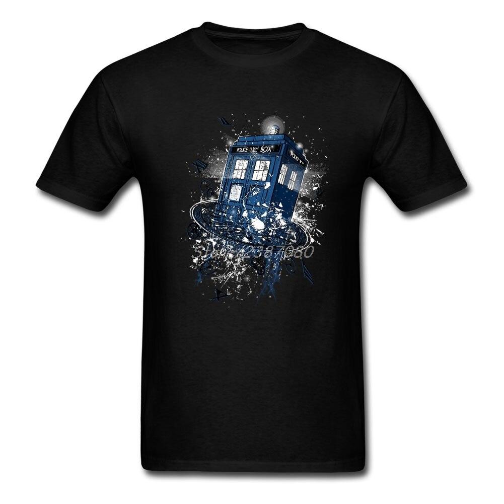 Brechen die Zeit Doctor Who T-shirt Big Größe Kurz hülse T-shirt Männer Pp Rock Oansatz Baumwolle T-shirts Fitness männer