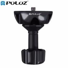 PULUZ 75 мм Половина Бал Плоским, чтобы Чаша Адаптер для Головки Штатива DSLR Rig Камеры, Материал металла