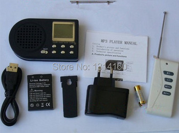 MODEL CP-360B Hunting Mp3 Bird Caller Sound Player With Remote Control