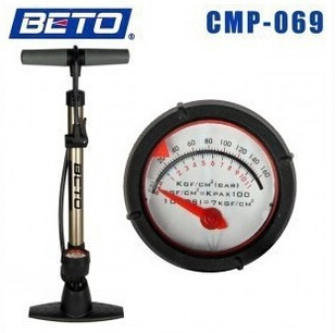 BETO bike genuine home floor-standing pump high-pressure pump with a pressure gauge CMP-069
