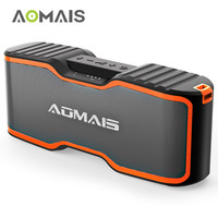 AOMAIS Sport II+ Bluetooth Speakers Portable IPX7 Waterproof 20H Playtime Built in Mic Louder Sound Portable Wireless Speaker