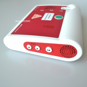 Image 5 - אישור CE חולים אוטומטיים חיצוני AED/סימולציה הכשרה בעזרה ראשונה מכשיר עם Pad באנגלית והונגרי