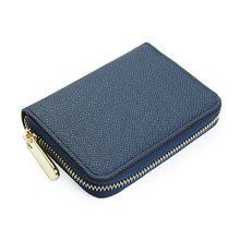 Fashion Cross-Border Short PU Mini Small Men's Wallets Hard 1 Fold Women Purse Card Holder Zip with Purse Coins Pack Khaki Blue цены