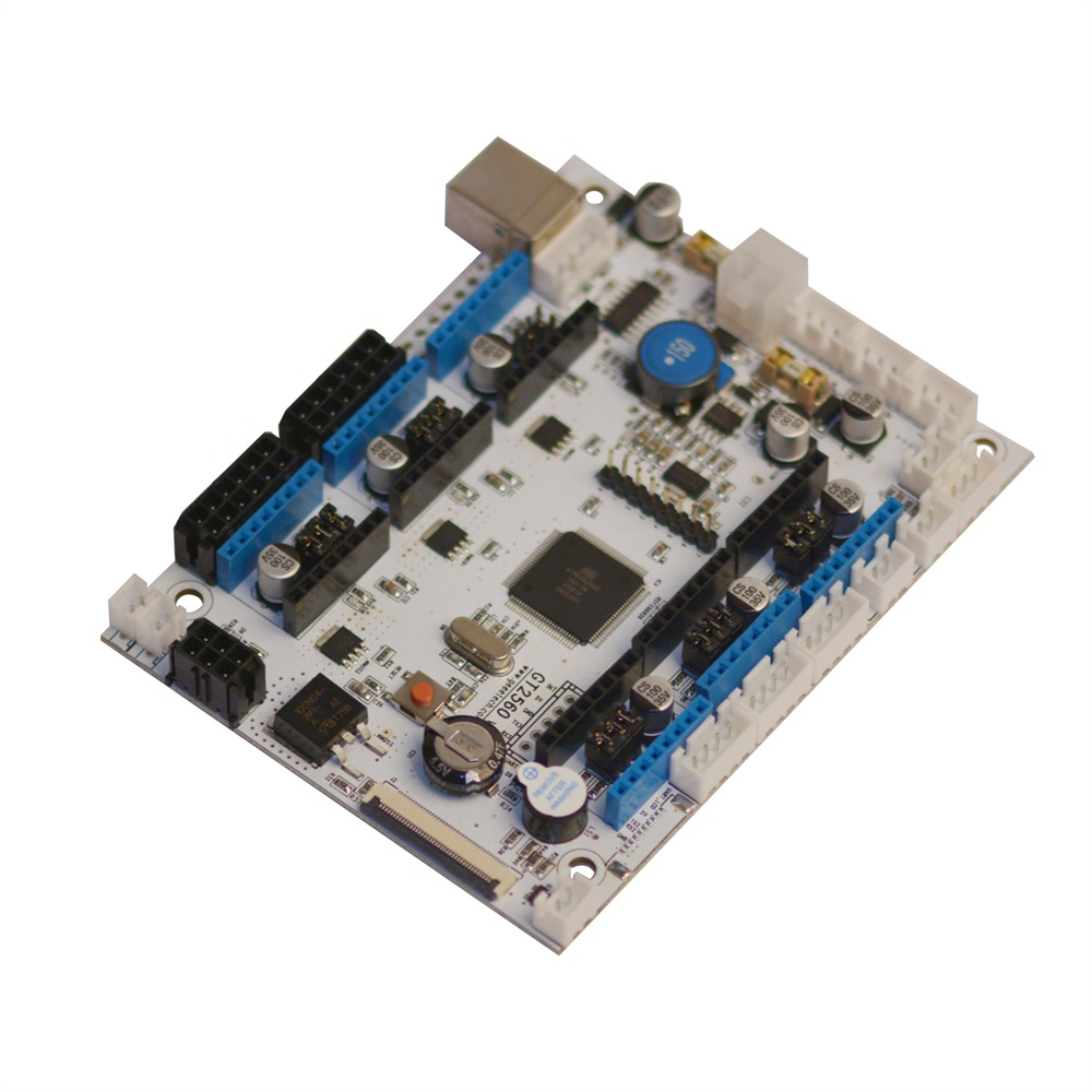 GEEETECH GT2560 V3.0 Motherboard used for A10, A10M, A20 and A20M 3D printers-in 3D Printer Parts & Accessories from Computer & Office    1
