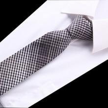 100%cotton Ties for men Casual Polyester Skinny Mens Neckties Fashion black/red/blue/grey Slim Neck tie gify Wedding