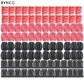 BYNCG для GoPro Аксессуары 104 шт. Плоским Изогнутые База Клей Крепление 3 М Наклейки Go Pro Hero 5 3 2 4 Сессии Xiaoyi 4 К SJ4000