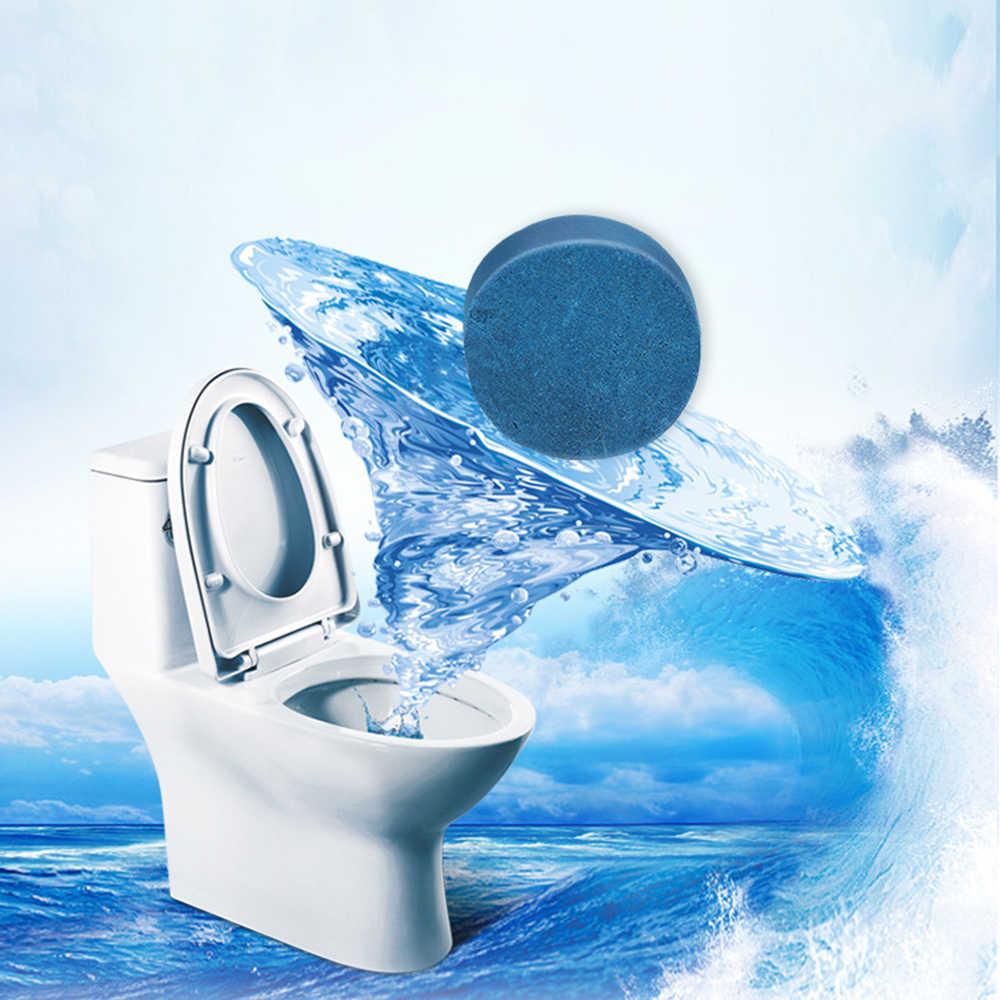 Free Shipping 1pcs Blue Orange Bubble Clean Toilet Deodorant Toilet Cleaner