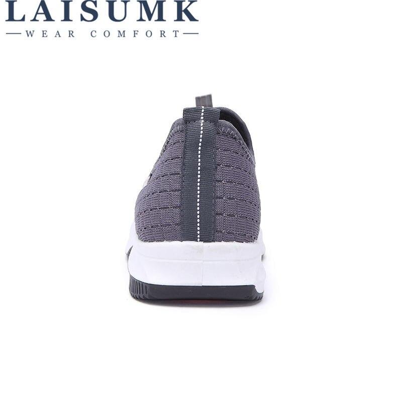 gris Zapatillas Laisumk 2019 De Calzado Hombres Ligero Cómodo Malla Zapatos Aire Casual Libre Al Verano azul Negro Breathable Moda UwUqCE