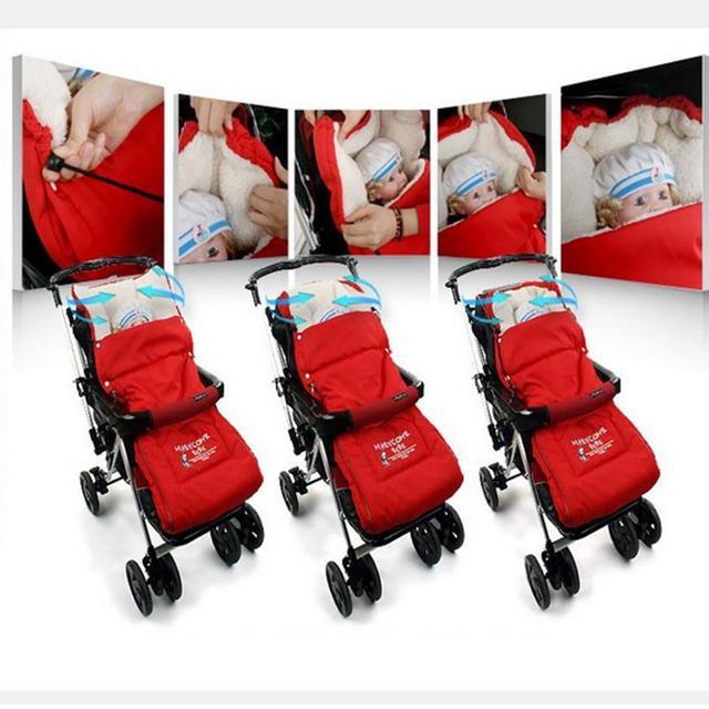 Baby Sleeping Bag Children Sleep Sacks Envelope For Newborns Thick Warm Winter Pram The Blanket -- MKE021 PT49
