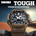 New 2017 SKMEI Brand Men Sport S-Shock Watches Men Quartz Digital Watch Outdoor Military Shockproof Waterproof Wristwatches