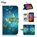 For Asus Zenfone 2 ZE551ML ZE550ML Wallet Stand PU Leather Phone Bag Cases Cover For Zenfone2 5.5'' Card Slots Magic Butterfly