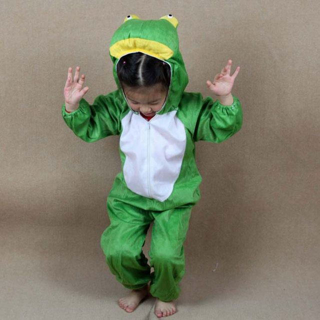Kids Cartoon Animal Frog Pajama Costume Performance Clothes Childrenu0027s Day Halloween Costumes Jumpsuits for Child Boy & Kids Cartoon Animal Frog Pajama Costume Performance Clothes ...