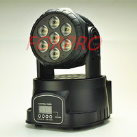 7 10W 7 15W RGBW 4 In 1 LED Moving Rotating Wash Light Led Stage Lighting