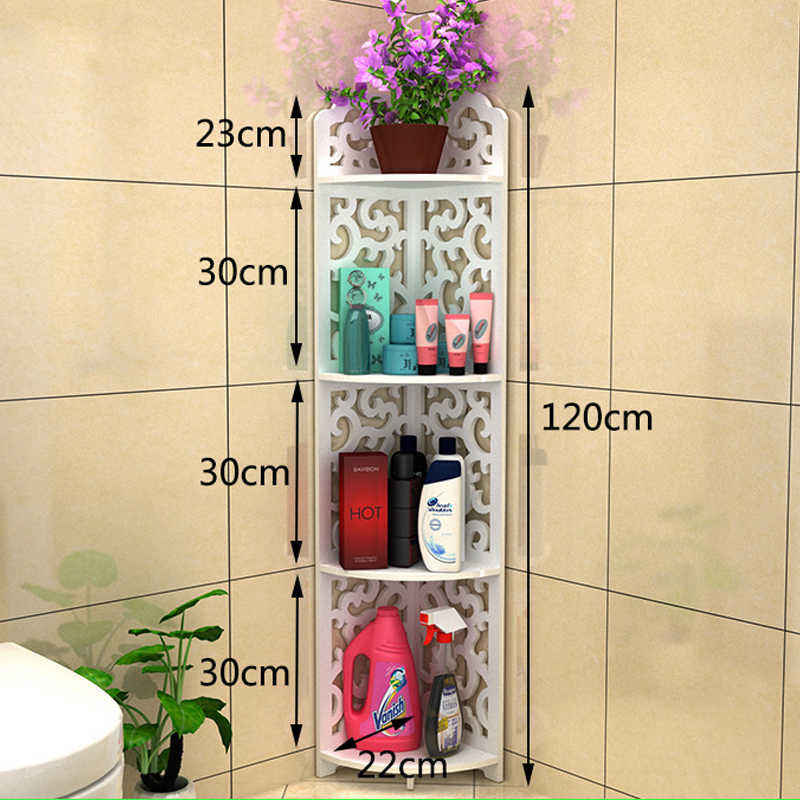 Alle Grossen Badezimmer Aufbewahrung Regale Toilettenartikel Pflanzen Schuhe Kleinigkeiten Lagerregal Wasserdichte Badezimmer Eckschrank Dusche Regal Bathroom Storage Shelf Storage Shelvesstorage Rack Aliexpress