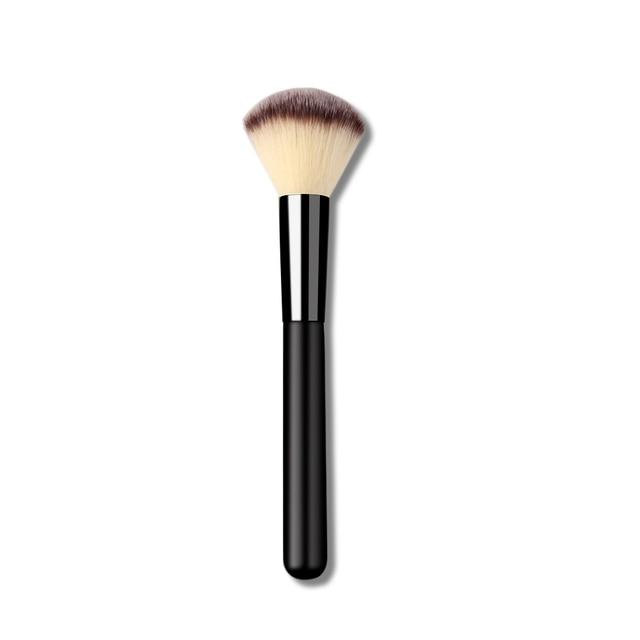 1 Pc Fashion Women Profession Useful Soft Nylon Fiber Foundation Makeup Tool Cosmetic Brushes Face Fiber Powder Blush Brush Makeup Brushes