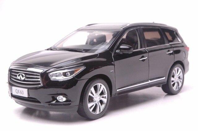 1 18 Scale Cast Model Car For Infiniti Qx60 2017 Black Suv Alloy Toy Fx35