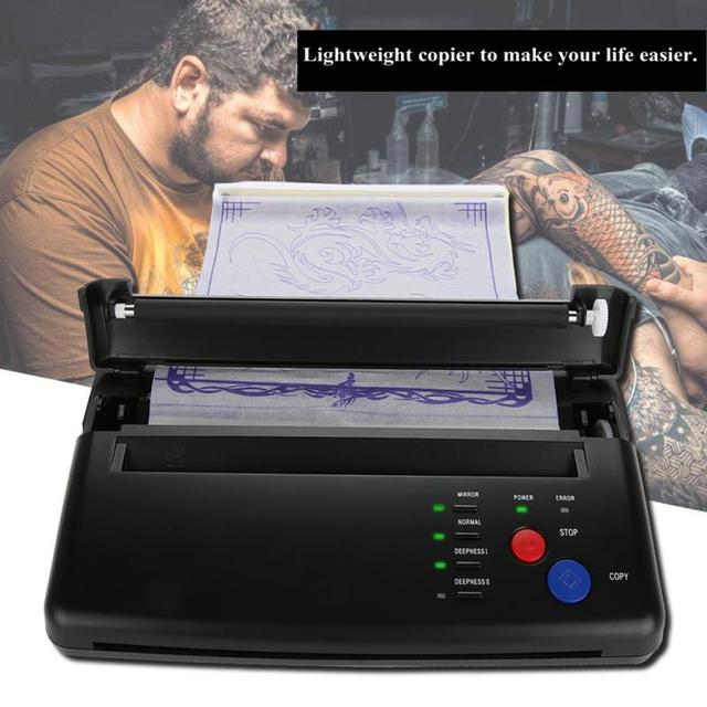 Briquet tatouage transfert Machine imprimante dessin thermique pochoir fabricant copieur pour tatouage transfert papier approvisionnement maquillage permanent