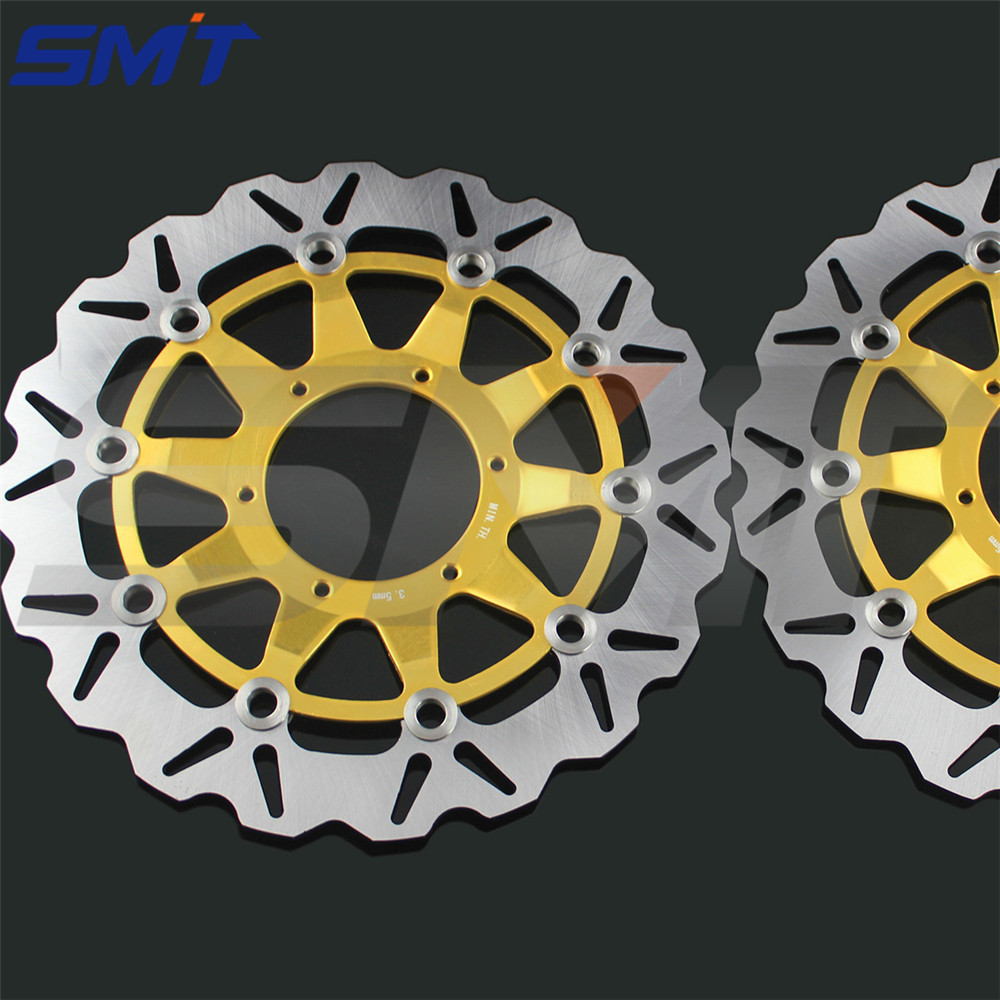 high quality motorcycle accessories front brake disc roto For Honda CBR1000RR 2006 2007 2008 2009 2010 2011 2012 arashi motorcycle radiator grille protective cover grill guard protector for 2008 2009 2010 2011 honda cbr1000rr cbr 1000 rr