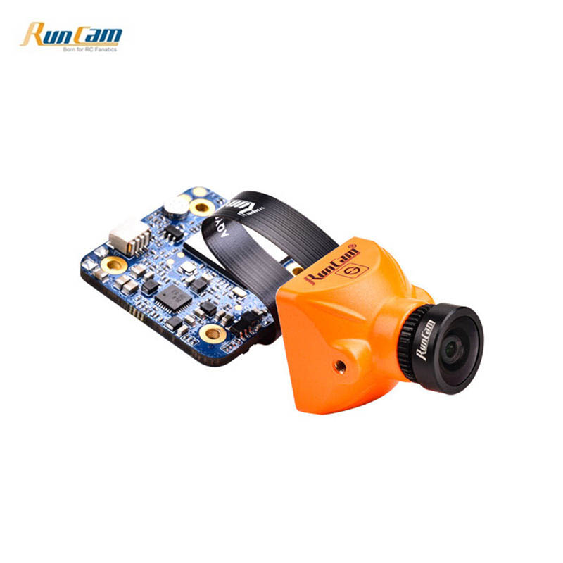 лучшая цена RunCam Split Mini 2 FOV 130 Degree 1080P/60fps HD Recording & WDR FPV Camera NTSC/PAL Switchable Cam For RC Models Toys