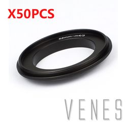 VENES  Adapter ring for 52mm Lens to Suit for Micro4/3 Camera, For 52mm filter lens to M4/3 lens adapter, for Panasonic LUMIX