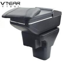 Vtear для hyundai акцент подлокотник коробка центральный хранить содержимое коробки с подстаканником пепельница подкладке автомобиль-Стайлинг Аксессуары части