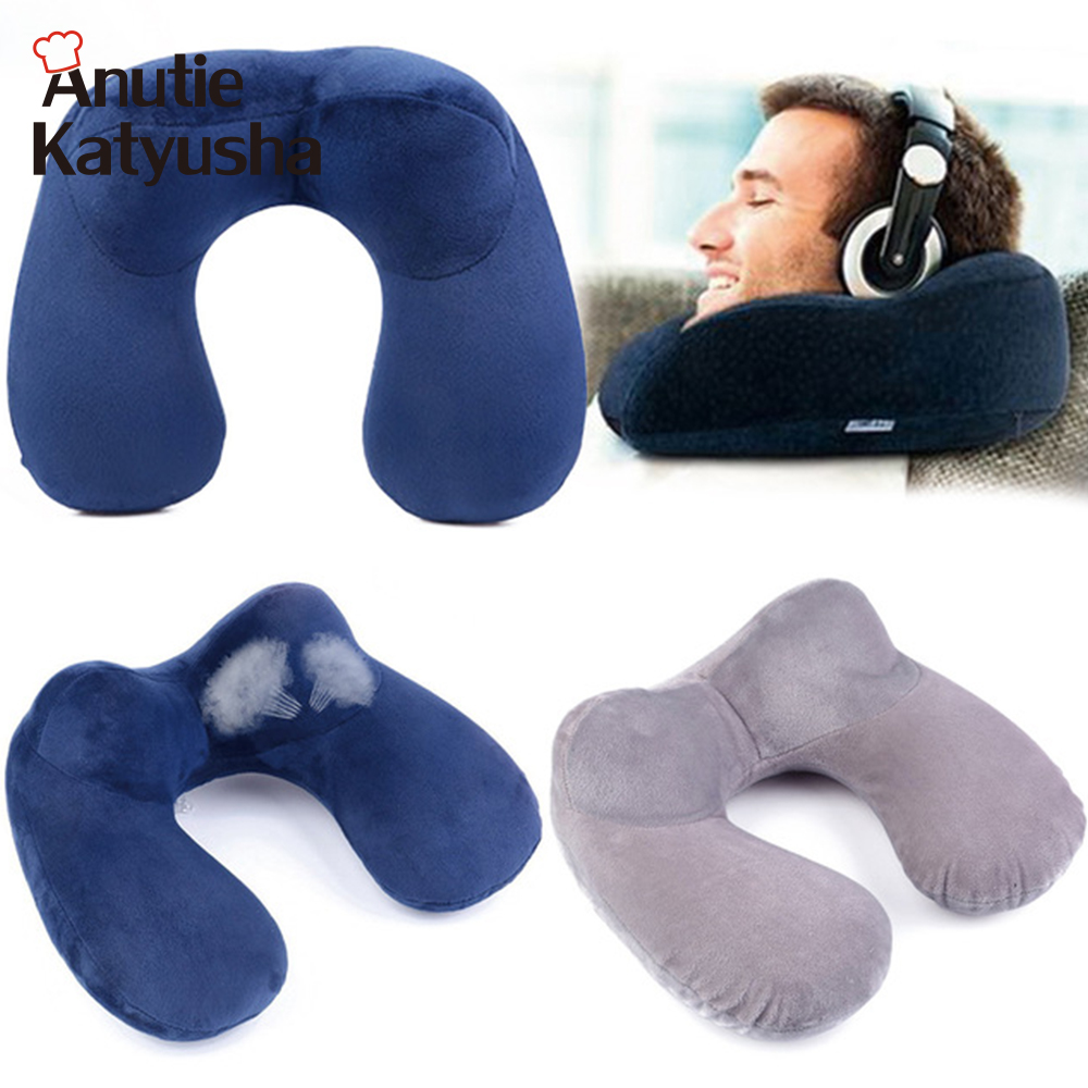 travel for airplane office traveling product neck shape particle u pillow filling foam microbeads stripe