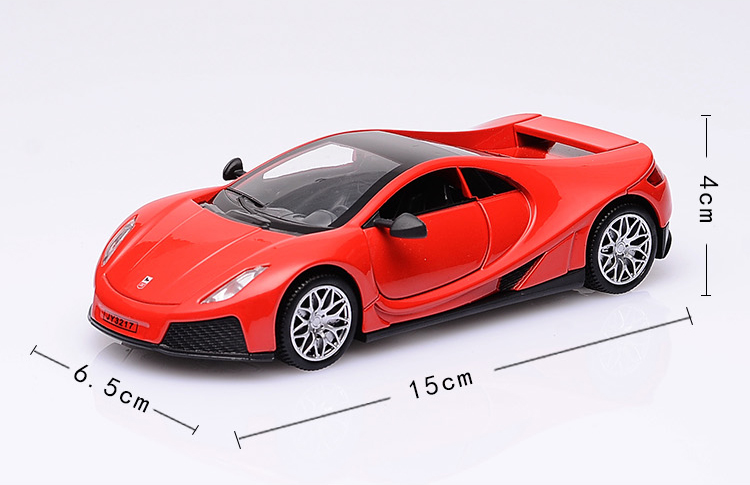 KD Sport Car 1/32 Die Cast Vehicle Excellent Car Collection&Toy Car 15Cm Return Power W/Light and Music Excellent Quality