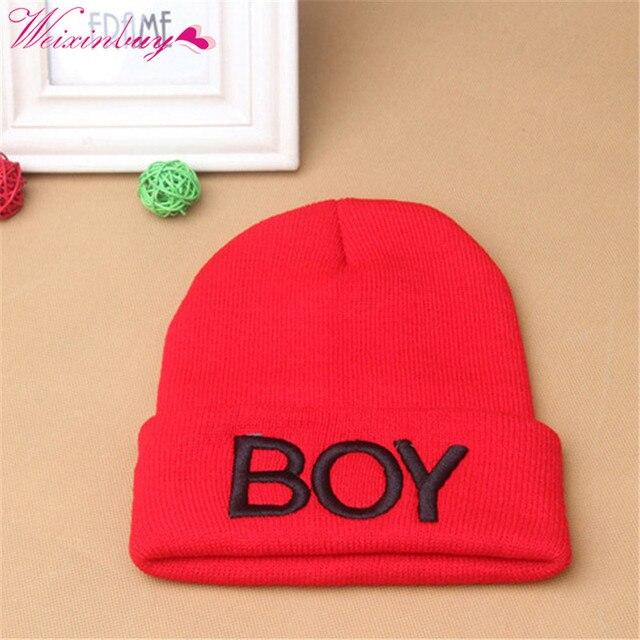 fe85b609643 Baby Girls Boys Knitted Woolen Skull Hats Toddler Ski Hats BOY Beanie Caps  Wholesale