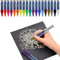 oil based paint markers ASTM D 4236 and EN71 Artist quality 19 colors
