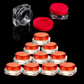 10PCS Face Cream Eyeshadow Cosmetic Container Hot Empty Jar Glitter Makeup New