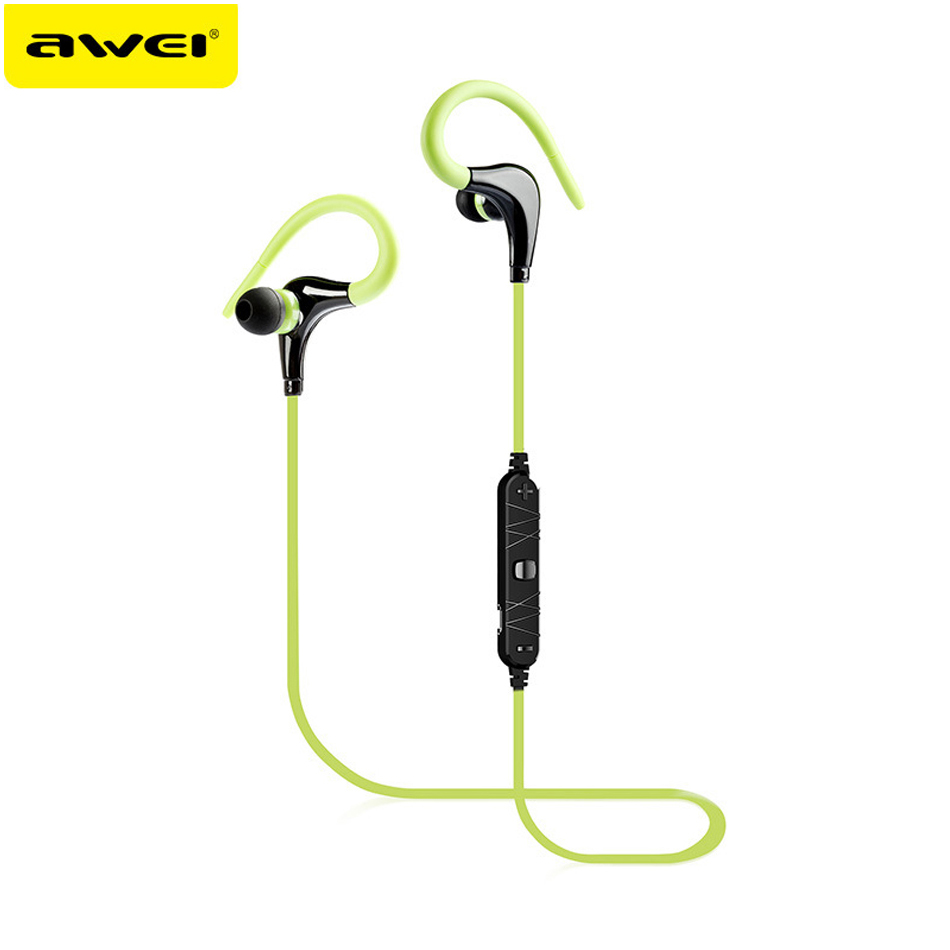 AWEI A890BL Wireless Bluetooth V4 0 Earphone Sport Stereo Noise Isolation Headsets With Microphone for mobile