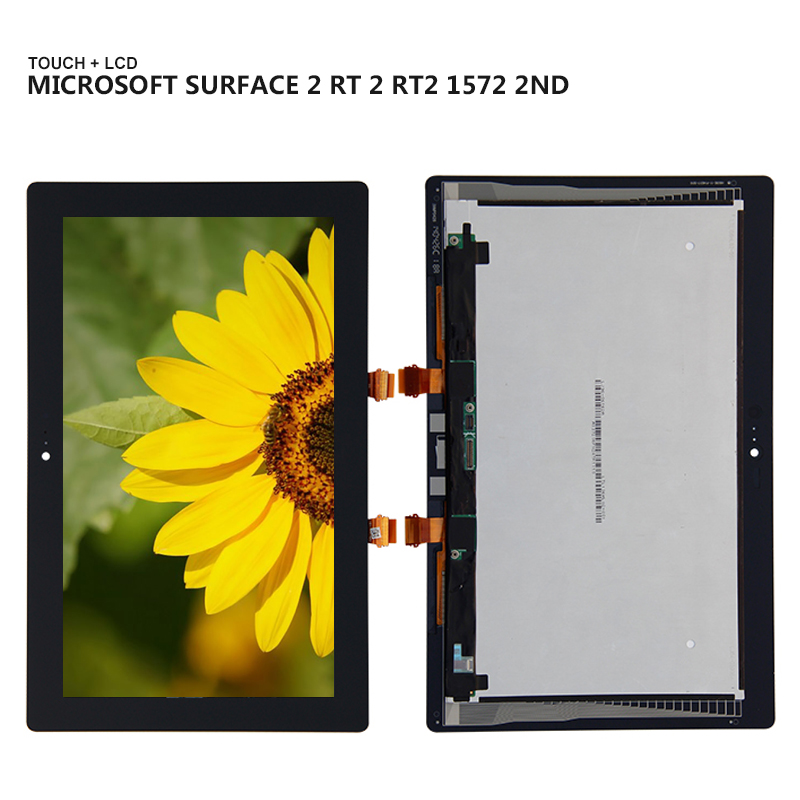 For Microsoft Surface 2 RT 2 Rt2 1572 2nd Display Panel LCD Combo Touch Screen Glass Sensor Replacement Parts museum the