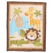 Постельные принадлежности для кроватки для девочек и мальчиков, одеяла для кроватки 33 ''x 42'' Baby Quit для девочек(розовый