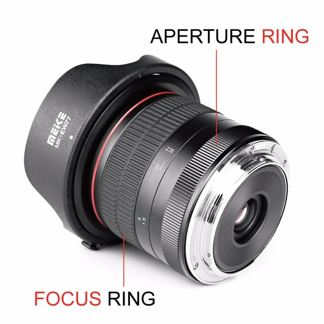 8Mm F/3.5 Wide Angle Fisheye Camera Lens