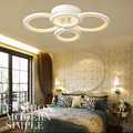 (WECUS) Special ! ! Personality living room ceiling lamp,creative fashion led ceiling lamp , luck ring series, 4 heads