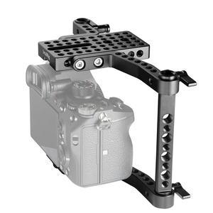 Image 5 - Panasonic gh4/gh3/gh2/sony a7/a7ii/canon/nikon 1630 용 가변 막대가있는 smallrig versaframe 카메라 케이지