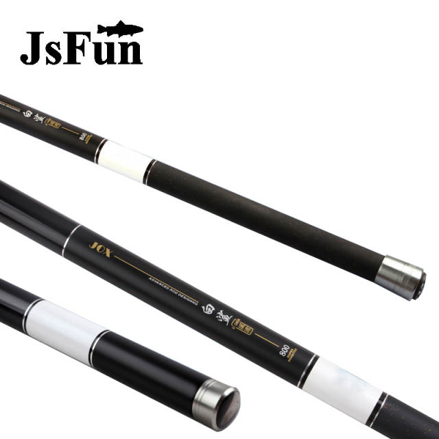 US $39 35 11% OFF|8M 9M 10 M 11M 12M 13M Telescopic Carbon Fiber Fishing  Rod Long Ultra Hard Power Hand Fishing Pole Carp fishing Olta FG32-in  Fishing