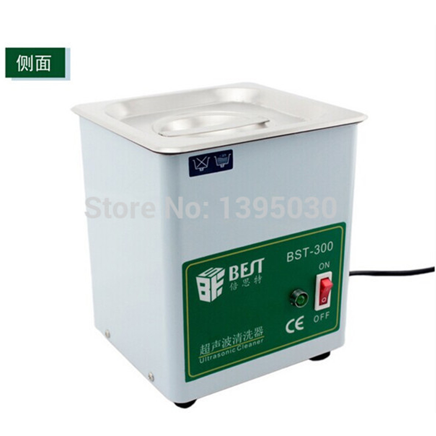 1pc BST-300 Stainless Steel Ultrasonic Cleaner Ultrasonic Cleaning Machine Capacity 1.8L (150X137X100 mm)220V 50W 1pc 110v 220v ps 60al 360w ultrasonic cleaner 15l cleaning equipment stainless steel cleaning machine