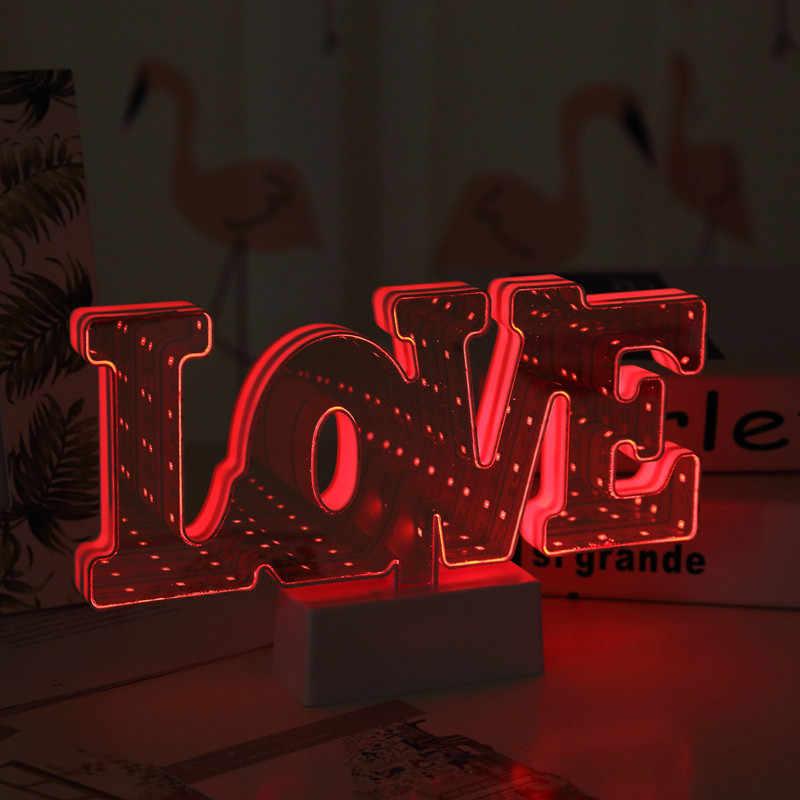 Светодиодный ночник с изображением фламинго, русалки, ананаса, светильник единорог, украшения, освещение в спальню, 3D лампа с Луной, подарки на Рождество, день рождения