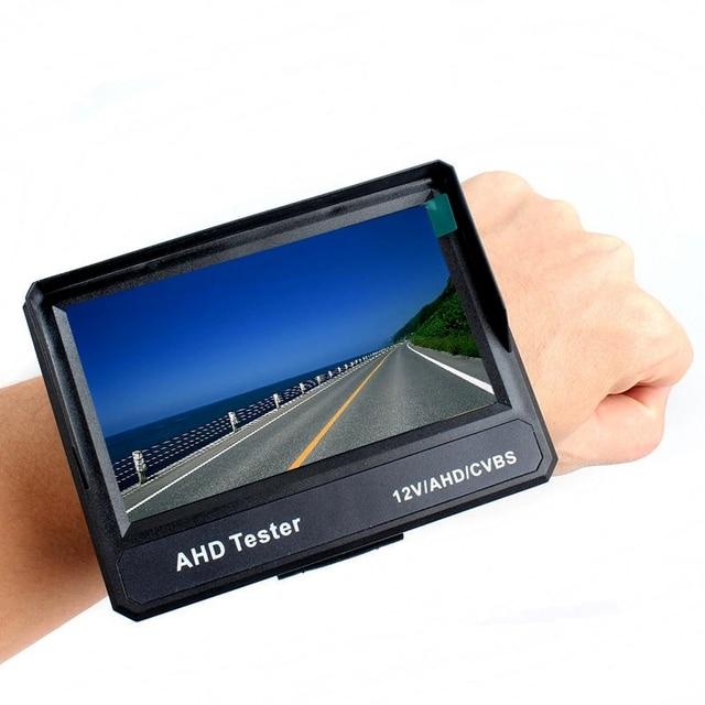"Free Shipping!Wristband 4.3"" LCD 1080P HD-AHD CVBS CCTV Camera Test Monitor Tester 12V-Output"