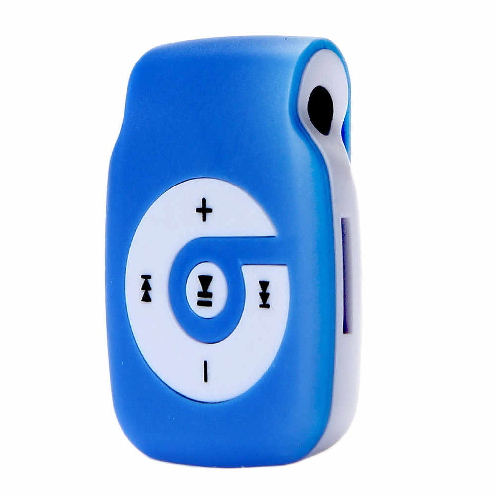 Hiperdal مشبك صغير معدني USB مشغل MP3 دعم مايكرو SD TF بطاقة الموسيقى وسائل الإعلام