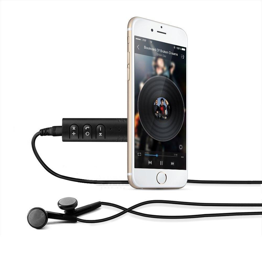 Universal 3.5mm Jack Bluetooth Car Kit Hands Free Music