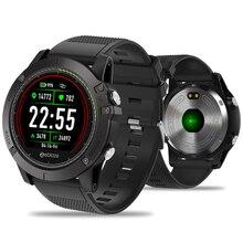 Bluetooth inteligentny zegarek mężczyźni wodoodporny zegarek sportowy kolorowy ekran smartwatch z kontrolą tętna cyfrowy zegarek dla IOS Android