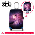 Galaxy Estrela Alta Elastic Estiramento Bagagem Capa Protetora Clara Para 18-30 polegada Mala Trolley Travel Case Capa com Zipper