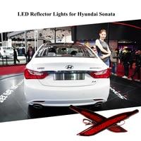 Led Parking Warning Light Tail Light LED Waterproof Red Rear Bumper Reflector Lamp 0 3A DC12V
