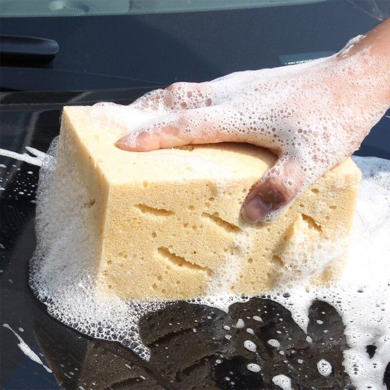 Soft Car Washing Sponge Wear resistant Elastic Coral Car Wash Sponge for car cleaning 21cm 11cm