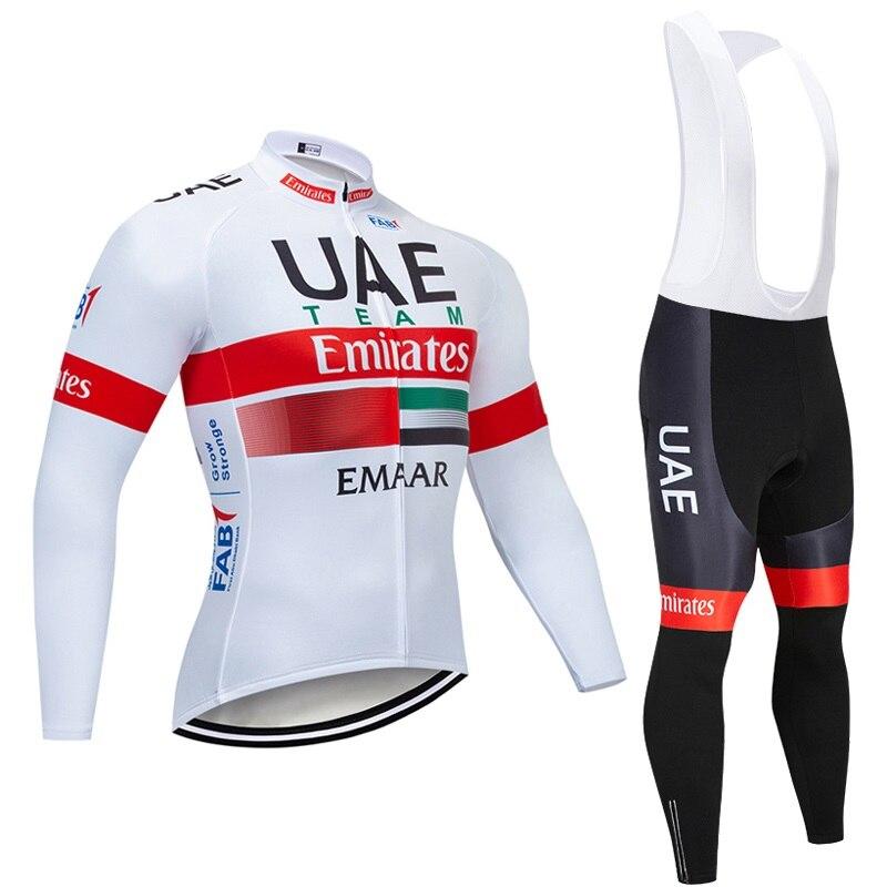 Constructive New Arrival 2019 Team Cycling Jersey Men Long Sleeve Shirt Bib Pants Suit Autumn Quick Dry Bike Uniform Racing Clothing Y040701 Cycling