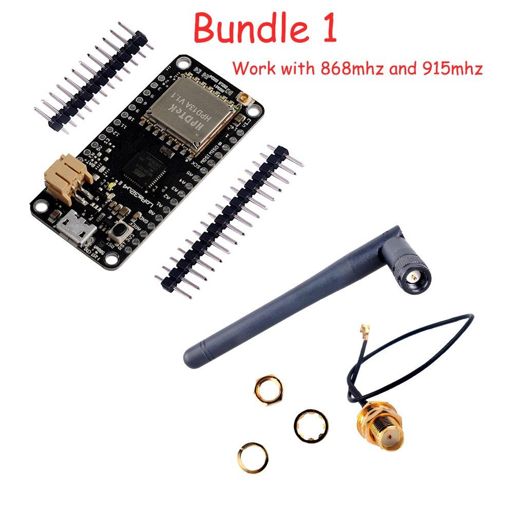 LoRa32u4 II Lora Module Development Board IOT LiPo Atmega328 SX1276 HPD13 868mhz 916mhz With Antenna For Arduino